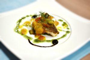 フェンネル魚料理